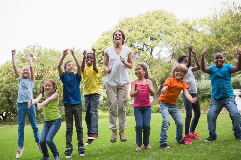 Teaching outside: a breath of fresh air