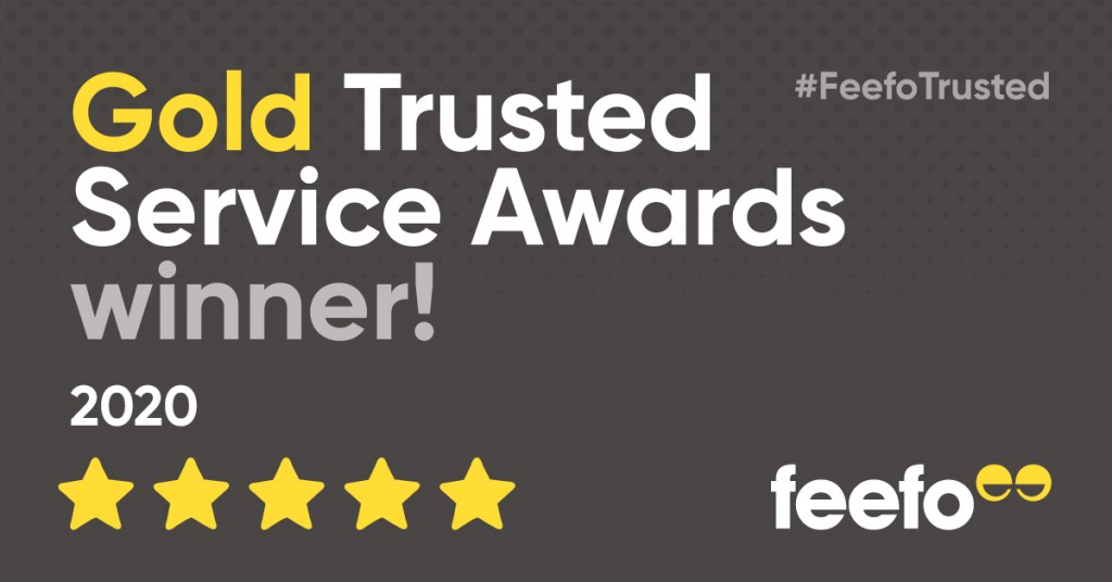 Utility Rentals wins second Feefo Gold Trusted Service Award!