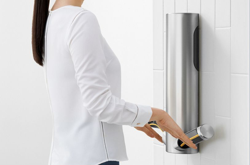 Dyson does it again: hygienic hand dryers for schools
