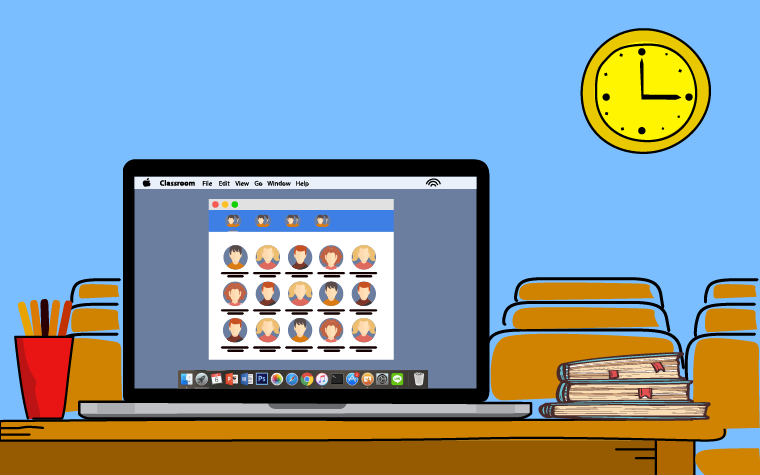 Using Apple Classroom for remote teaching