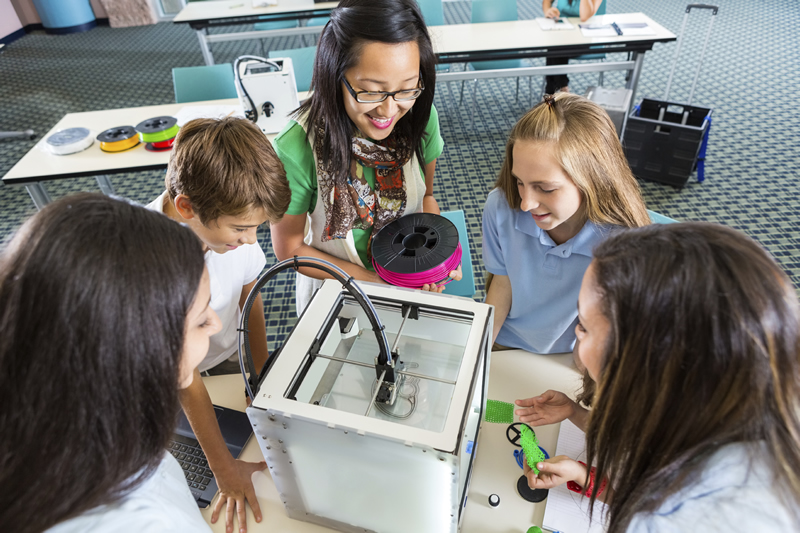 3D printing as part of the school curriculum