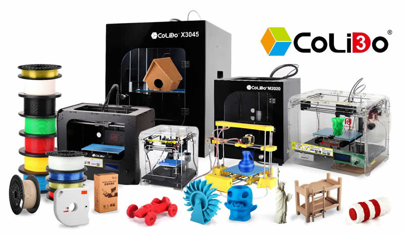 CoLiDo, offering easy to use 3D Printers for schools