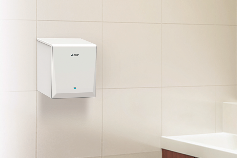 The Mitsubishi Jet Towel Smart – smart hand drying for schools and colleges