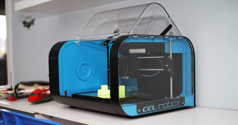 The CEL Robox is an ideal 3D printer for schools