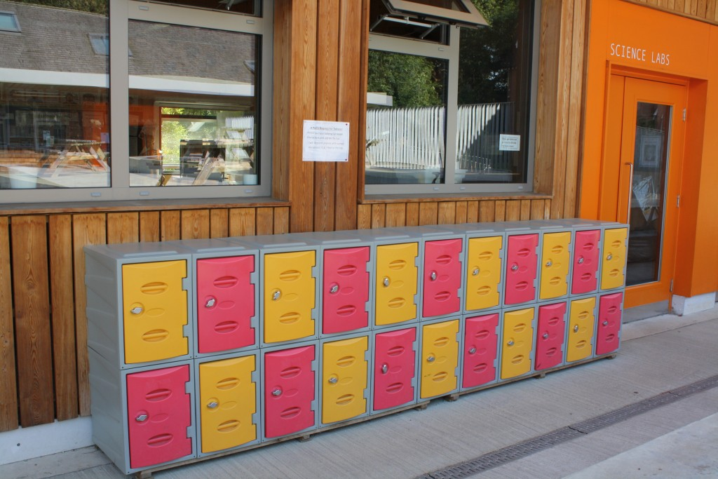 Hilden Grange Preparatory School acquire lockers with the help of Utility Rentals