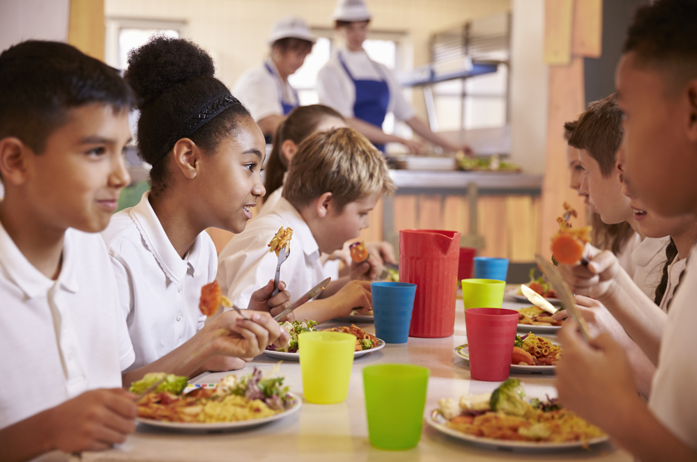 Cook like Jamie Oliver in your school cafeteria