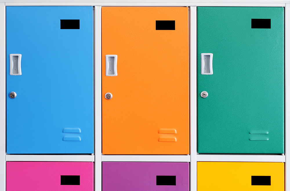 How to help students personalise their lockers