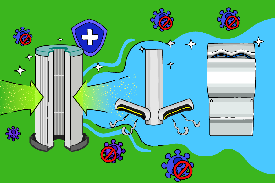 Hepa Hepa Hooray: how Dyson's HEPA filter keeps hands clean