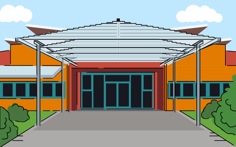 Making the right impression with school entrance canopies