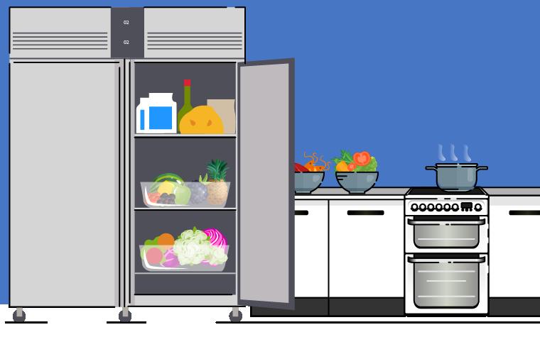 Choosing commercial refrigerators for schools