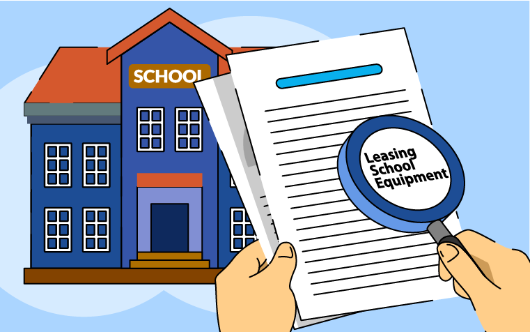 Leasing school equipment: what the Government says